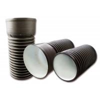 Трубы и фитинги для ливневой канализации тип КОРСИС