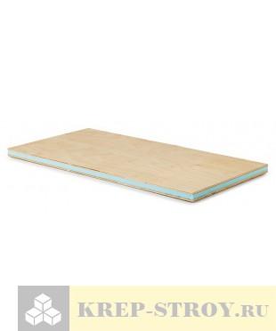 Сэндвич панель с фанерой (фанера+ XPS+ фанера) Руспанель, 2400x600x62