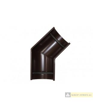Угол желоба LINKOR(2 уплотнителя EPDM,2 паза) 135⁰ (120,150мм типоразмеры) (алюминий толщина 1,2 мм)