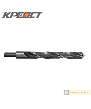 Сверла по металлу с проточенным хвостиком 21x200mm