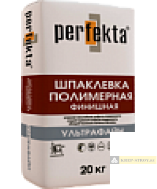 """Шпаклевка полимерная суперфинишная Perfekta® – """"УЛЬТРАФАЙН"""""""