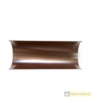 Желоб водосточный LINKOR (120, 150 типоразмеры)-L=3 м (алюминий толщина 1,2 мм)