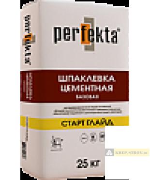 """Шпаклевка фасадная базовая Perfekta® """"СТАРТ ГЛАЙД"""""""