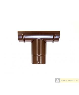 Воронка желоба LINKOR (2 уплотнителя EPDM ,2 паза) (120, 150 мм типоразмеры) (алюминий толщина 2 мм)