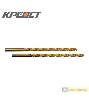 Сверла по металлу полу удлиненные 6.0mmx139mm