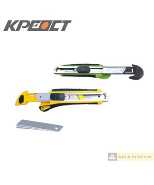 Нож (три выдвижных лезвия) 18mm