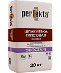 """Шпаклевка гипсовая, выравнивающая Perfekta® – """"ЭКОСТАРТ"""""""