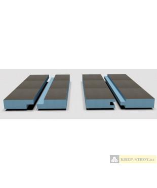 Панель РПГ Кромка шип-паз или четверть Руспанель, 2485x585x40, двухсторонняя